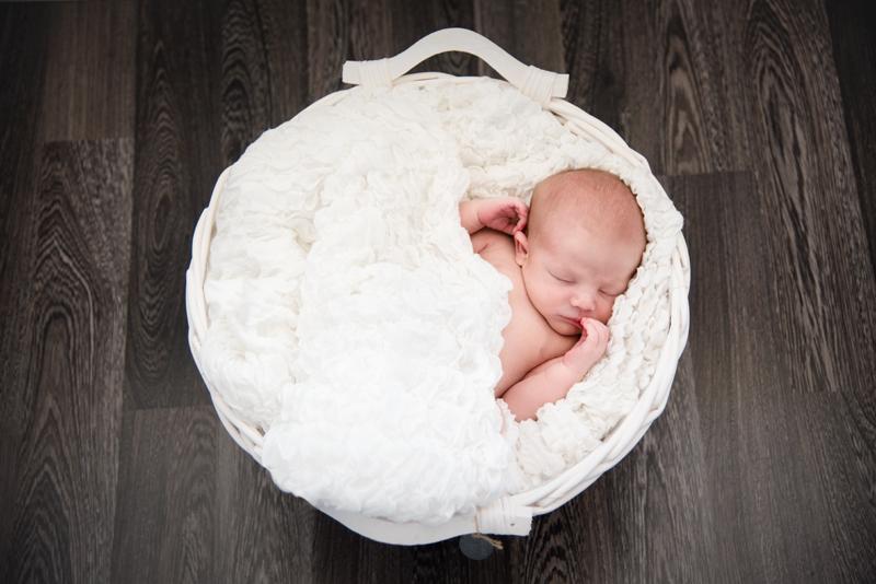 newborn fotografie mand