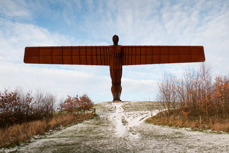 Newcastle Engeland - Angel of the North