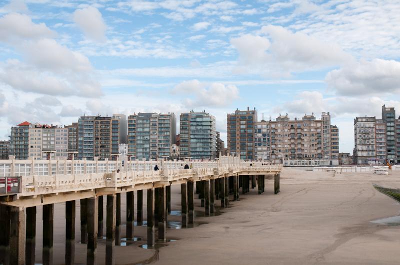 België Westende - Pier strand
