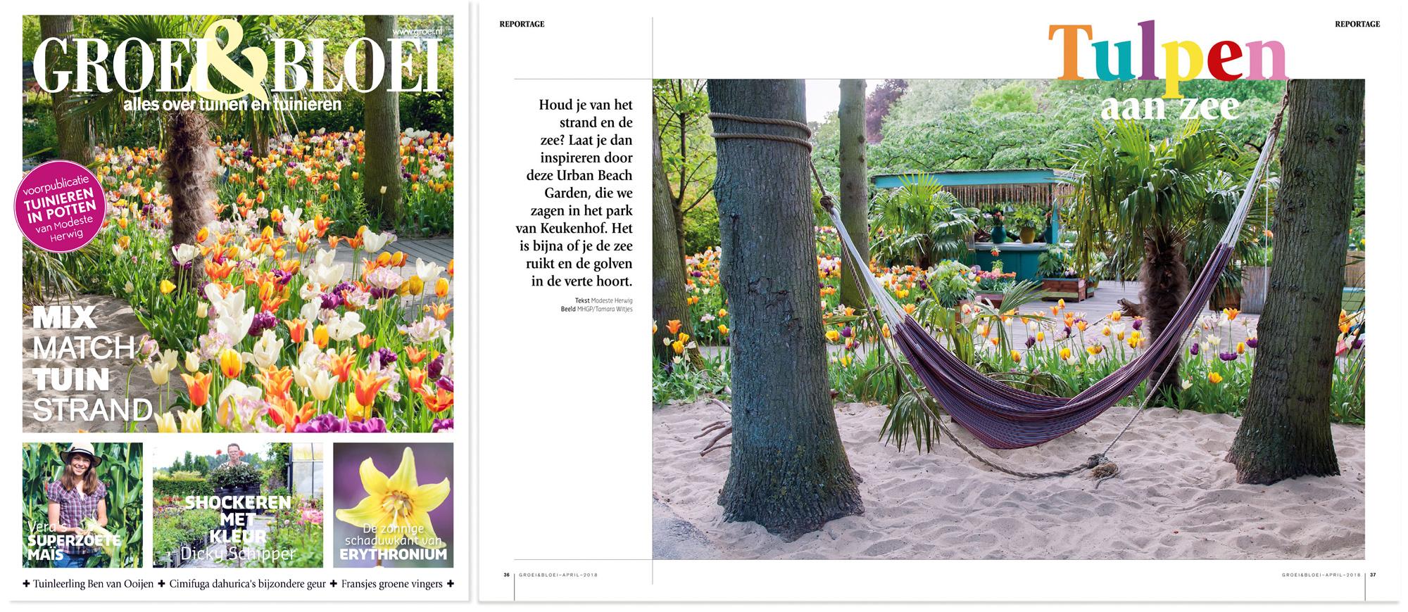 Urban_Beach_Garden_Groei&Bloei